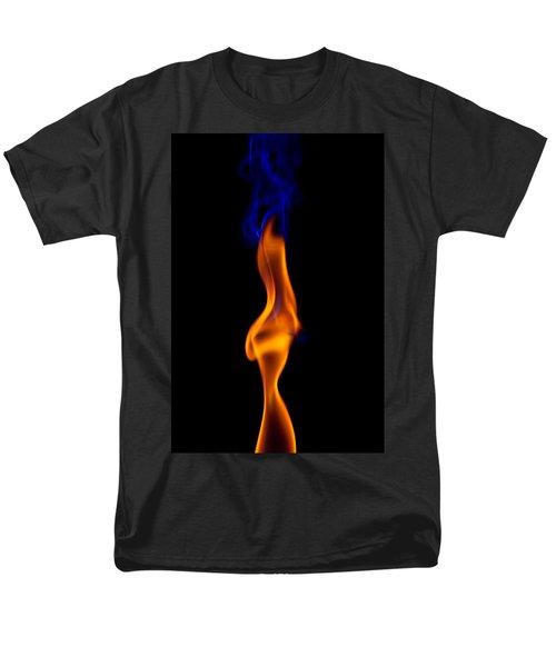 Men's T-Shirt  (Regular Fit) featuring the photograph Fire Lady by Gert Lavsen