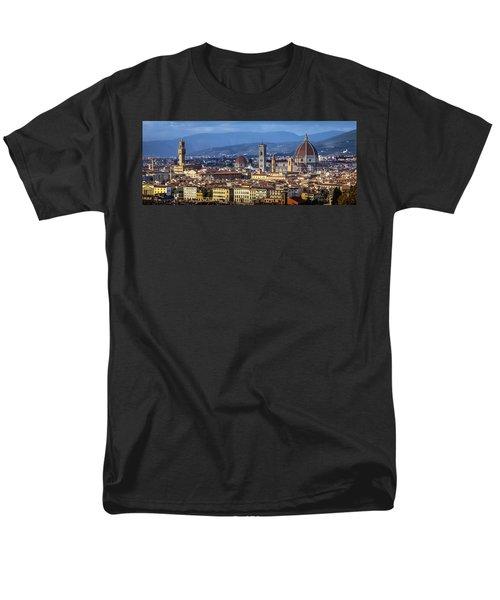 Firenze Men's T-Shirt  (Regular Fit) by Sonny Marcyan