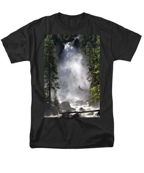 Fish Creek Falls Men's T-Shirt  (Regular Fit) by Don Schwartz