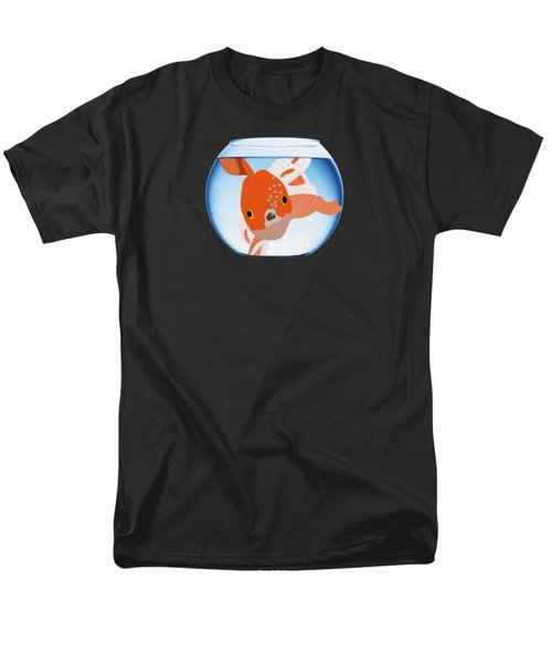 Fishbowl Men's T-Shirt  (Regular Fit) by Priscilla Wolfe