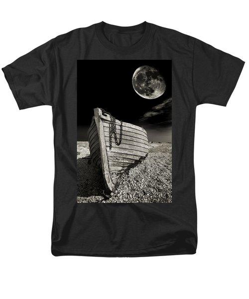 Fishing Boat Graveyard 3 Men's T-Shirt  (Regular Fit) by Meirion Matthias