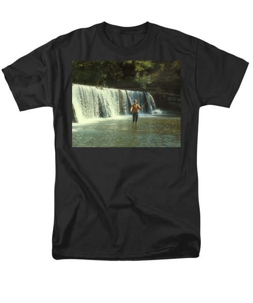 Fishing For Smallies Men's T-Shirt  (Regular Fit) by Garry McMichael