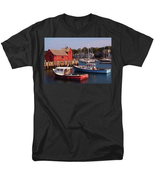 Fishing Shack Men's T-Shirt  (Regular Fit) by John Scates
