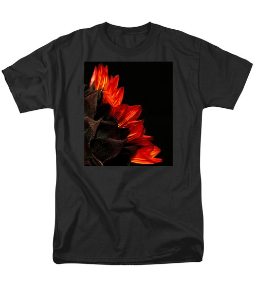 Men's T-Shirt  (Regular Fit) featuring the photograph Flames by Judy Vincent