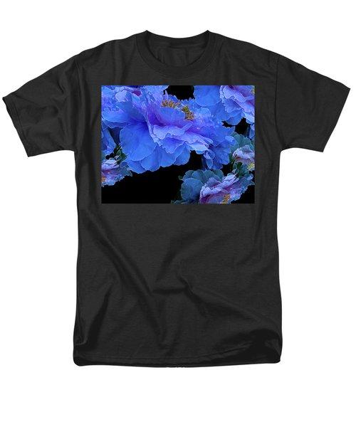 Floating Bouquet 10 Men's T-Shirt  (Regular Fit) by Lynda Lehmann