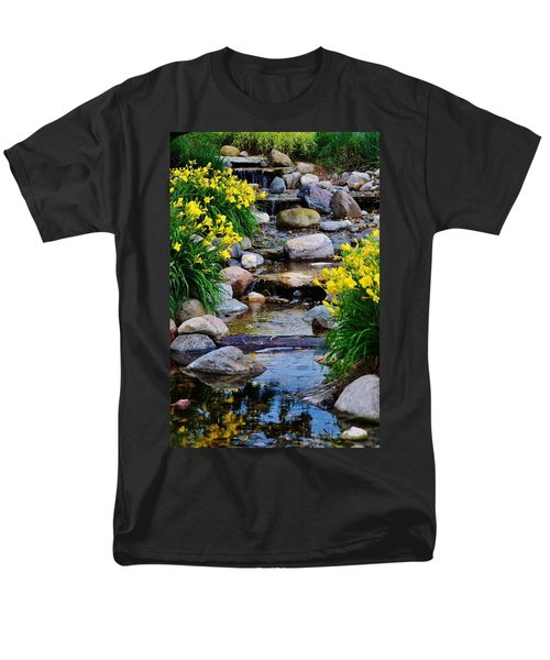 Floral Creek Men's T-Shirt  (Regular Fit)