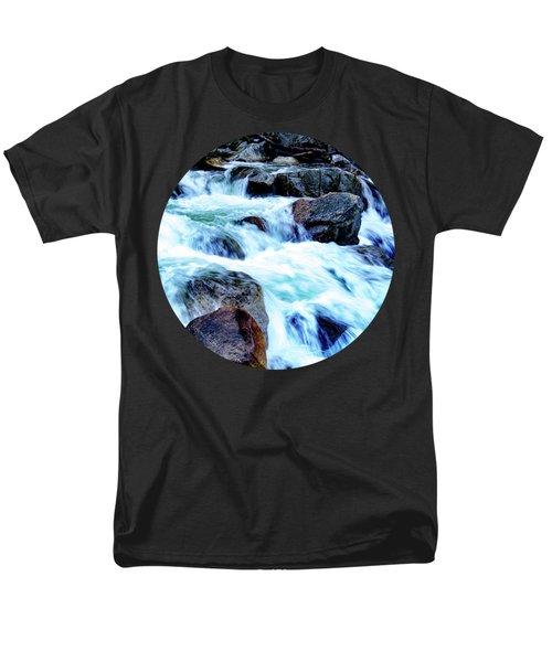 Flow Men's T-Shirt  (Regular Fit) by Adam Morsa