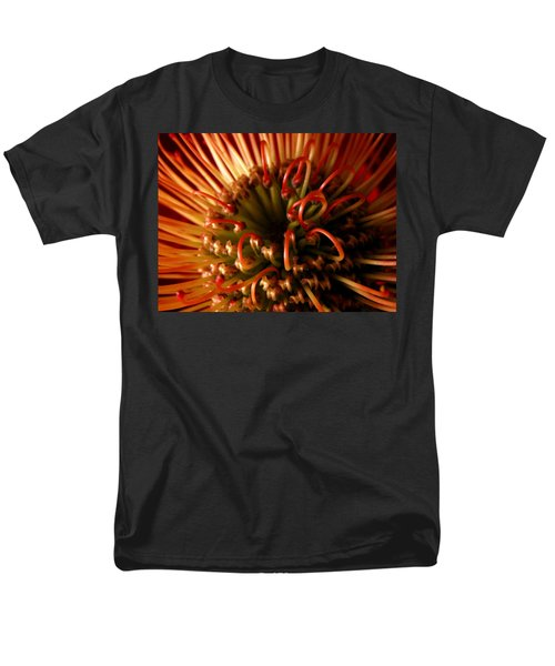 Men's T-Shirt  (Regular Fit) featuring the photograph Flower Hawaiian Protea by Nancy Griswold