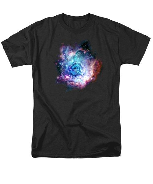 Flower Nebula Men's T-Shirt  (Regular Fit)