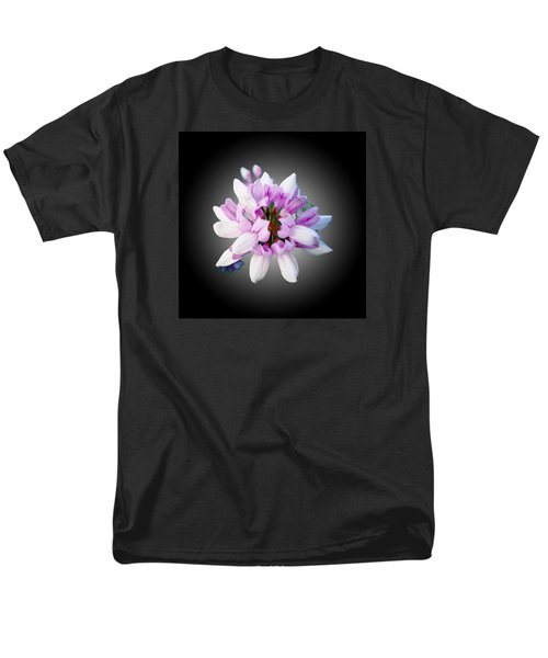 Men's T-Shirt  (Regular Fit) featuring the photograph Flower  Securigera Varia by Mike Breau