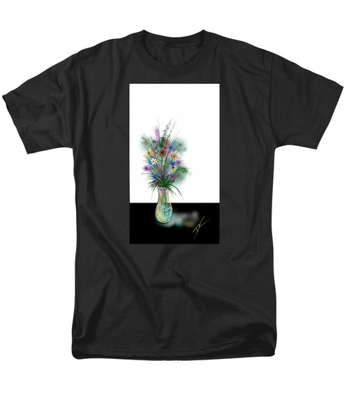 Flower Study One Men's T-Shirt  (Regular Fit) by Darren Cannell