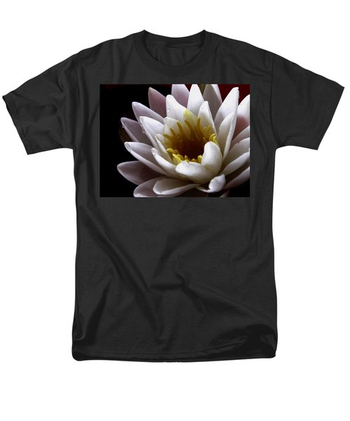 Men's T-Shirt  (Regular Fit) featuring the photograph Flower Waterlily by Nancy Griswold