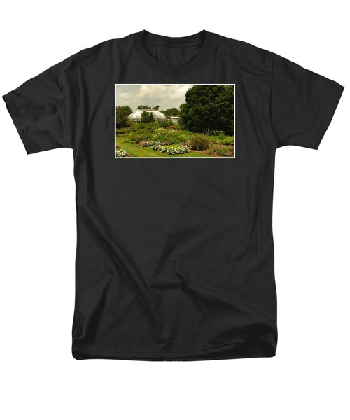 Men's T-Shirt  (Regular Fit) featuring the photograph Flowers Under The Clouds by James C Thomas