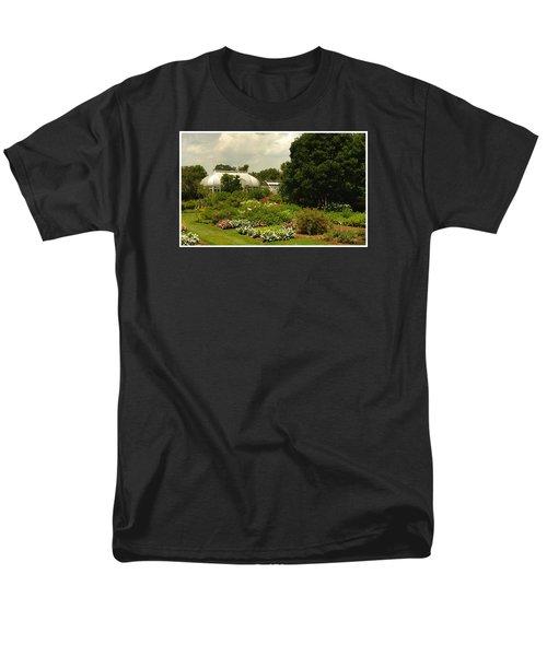 Flowers Under The Clouds Men's T-Shirt  (Regular Fit)