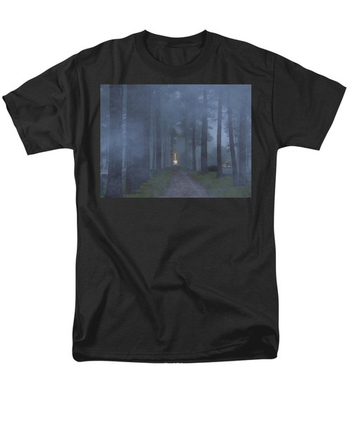 Foggy Hallowed Ground Men's T-Shirt  (Regular Fit) by Kimo Fernandez