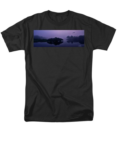 Foggy Morning Men's T-Shirt  (Regular Fit) by Don Durfee