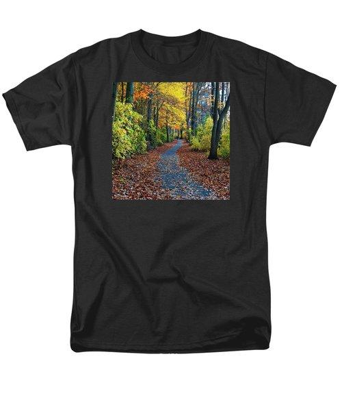 Follow The Path Men's T-Shirt  (Regular Fit)