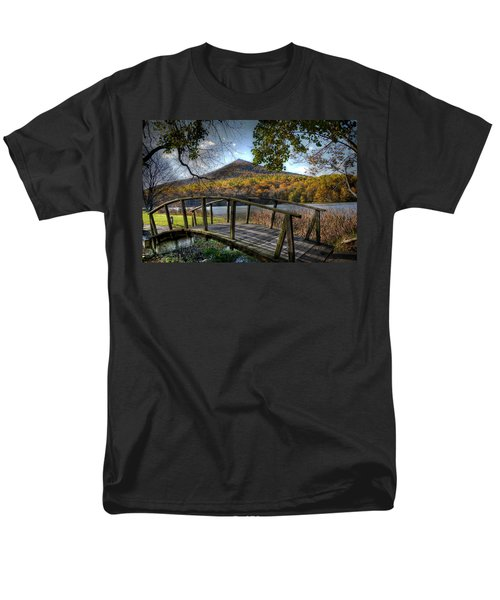 Foot Bridge Men's T-Shirt  (Regular Fit) by Todd Hostetter