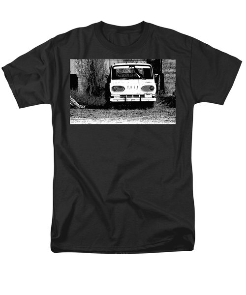 Ford Sketched In Black And White Men's T-Shirt  (Regular Fit) by Renie Rutten
