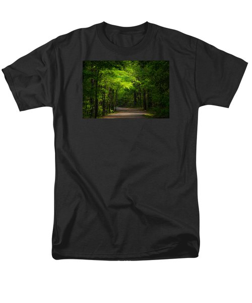 Forest Path Men's T-Shirt  (Regular Fit) by Parker Cunningham