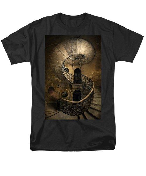 Forgotten Staircase Men's T-Shirt  (Regular Fit) by Jaroslaw Blaminsky