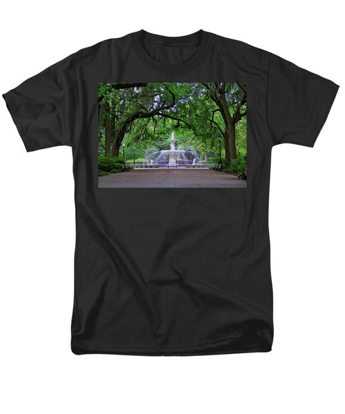 Forsyth Park Men's T-Shirt  (Regular Fit) by Jean Haynes