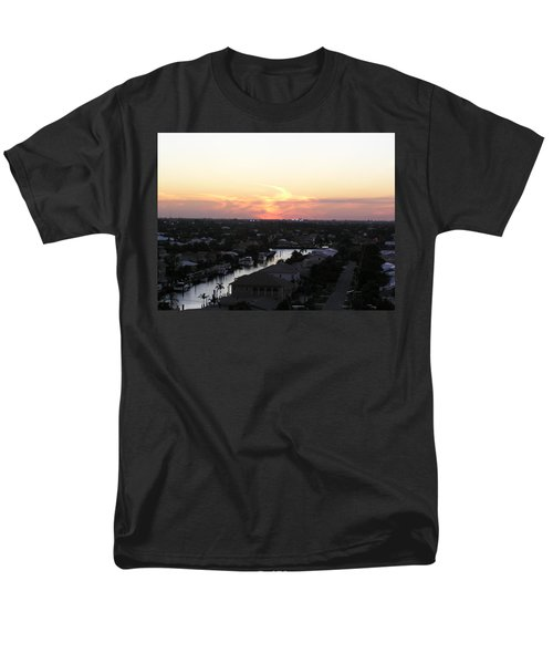 Fort Lauderdale Sunset Men's T-Shirt  (Regular Fit) by Patricia Piffath
