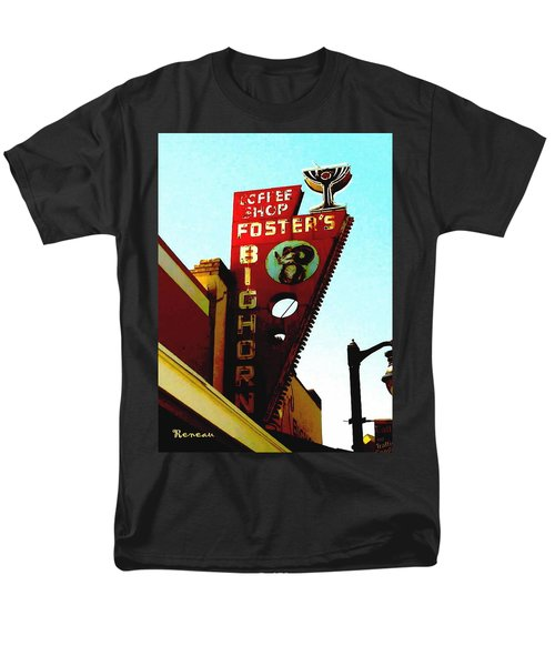 Foster's Bighorn Cafe Men's T-Shirt  (Regular Fit) by Sadie Reneau