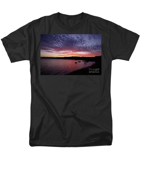 Four Elements Sunset Sequence 1 Coconuts Qld  Men's T-Shirt  (Regular Fit)