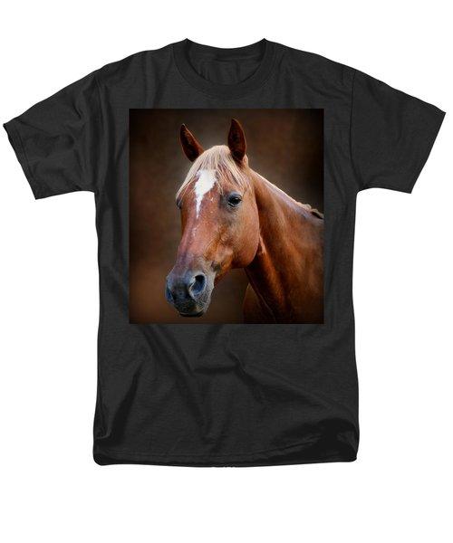 Fox - Quarter Horse Men's T-Shirt  (Regular Fit) by Sandy Keeton