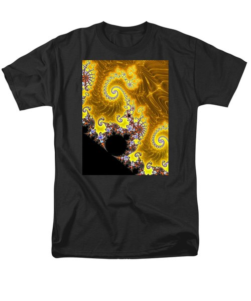 Men's T-Shirt  (Regular Fit) featuring the photograph Fractal Coastline by Ronda Broatch