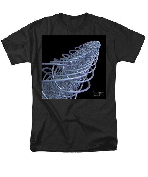 Fractal Comet Men's T-Shirt  (Regular Fit)