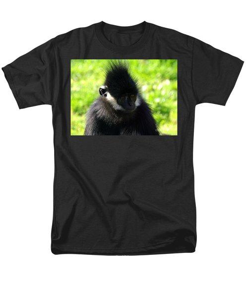 Men's T-Shirt  (Regular Fit) featuring the photograph Francois Langur by Lisa L Silva