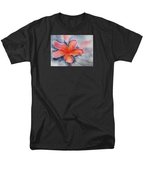 Frangipani Blue Men's T-Shirt  (Regular Fit) by Elvira Ingram