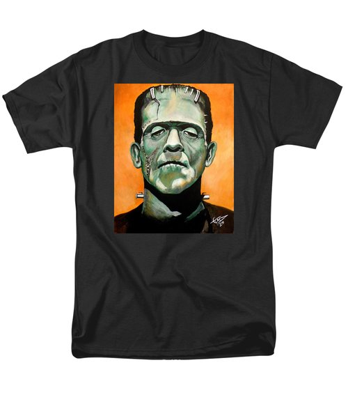 Frankenstein Men's T-Shirt  (Regular Fit) by Tom Carlton