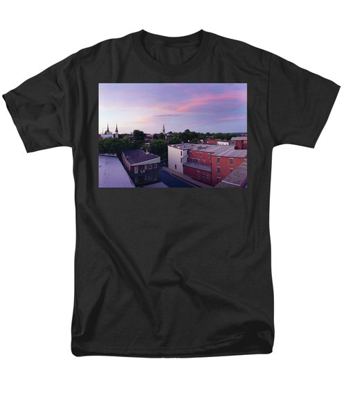 Twi Lights Men's T-Shirt  (Regular Fit) by Jan W Faul
