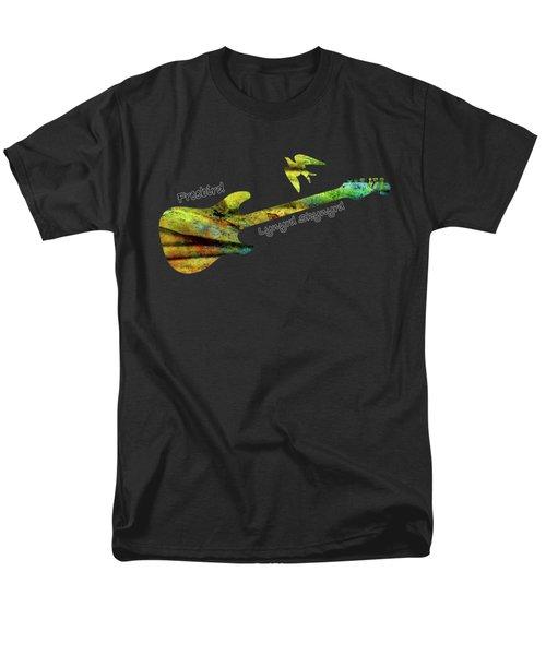 Freebird Lynyrd Skynyrd Ronnie Van Zant Men's T-Shirt  (Regular Fit) by David Dehner
