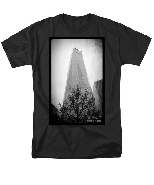 Freedom Tower 2 Men's T-Shirt  (Regular Fit) by Paul Cammarata