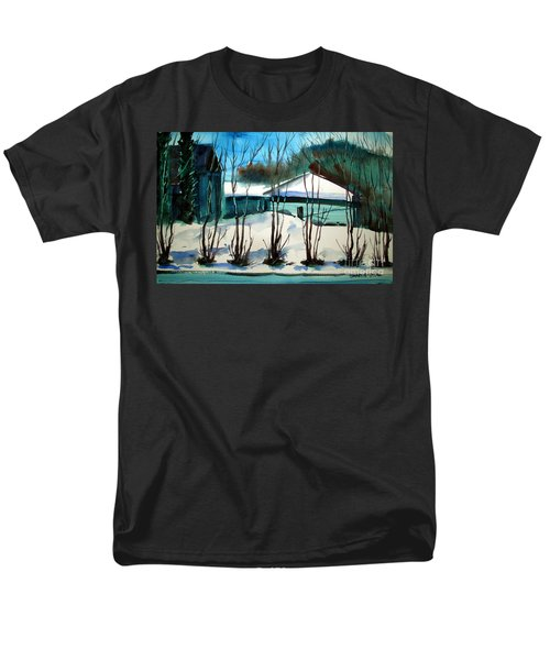 Fresh Snow Double Matted Men's T-Shirt  (Regular Fit)
