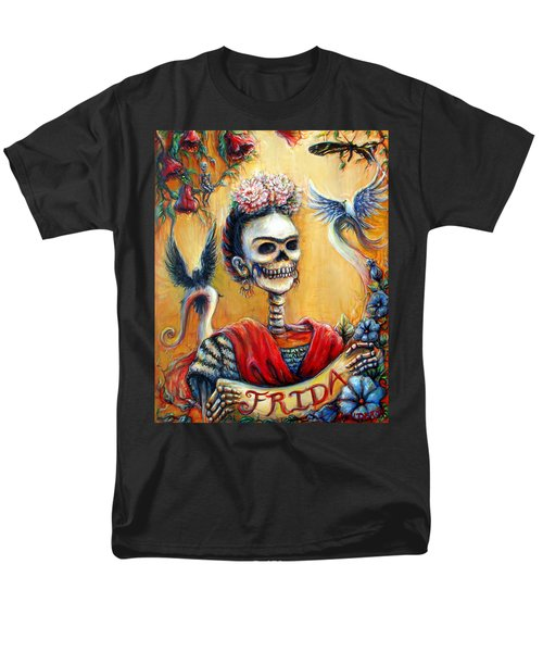 Frida Men's T-Shirt  (Regular Fit) by Heather Calderon