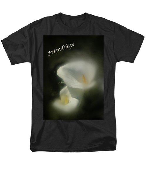 Men's T-Shirt  (Regular Fit) featuring the photograph Friendship Card by Richard Cummings