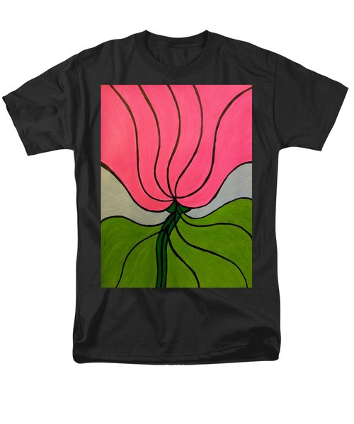 Friendship Flower Men's T-Shirt  (Regular Fit)