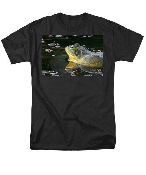 Frog At Sunset Men's T-Shirt  (Regular Fit) by Paula Guttilla