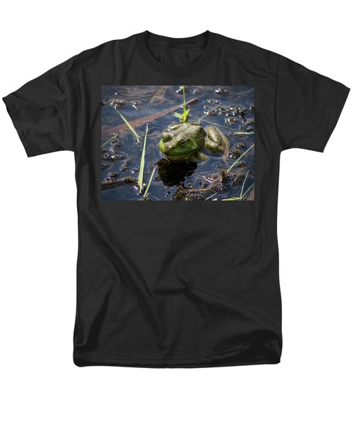 Men's T-Shirt  (Regular Fit) featuring the photograph Frog  by Trace Kittrell