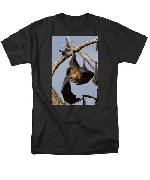 Fruit Bat Hanging Men's T-Shirt  (Regular Fit) by Craig Dingle
