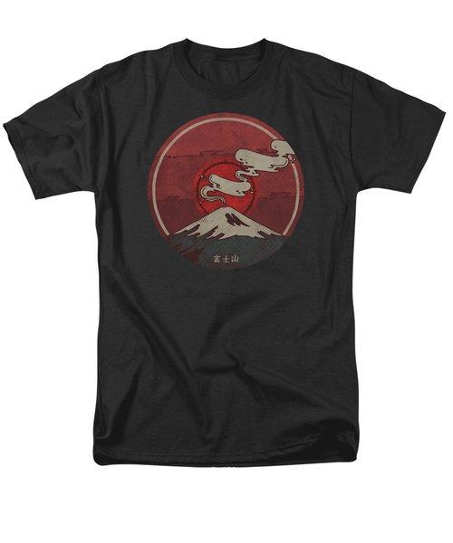 Fuji Men's T-Shirt  (Regular Fit) by Hector Mansilla