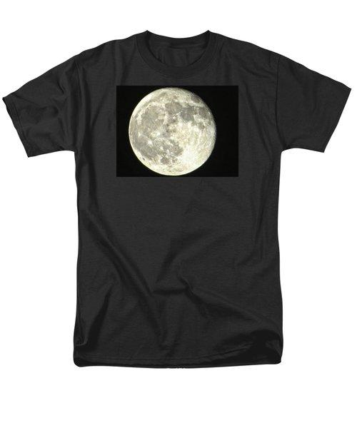 Men's T-Shirt  (Regular Fit) featuring the photograph Full Moon Love by Nikki McInnes