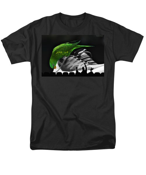 Men's T-Shirt  (Regular Fit) featuring the photograph Fun Digital Art 01 by Kevin Chippindall