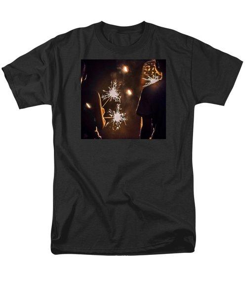 Fun On The 4th Men's T-Shirt  (Regular Fit) by Carlee Ojeda