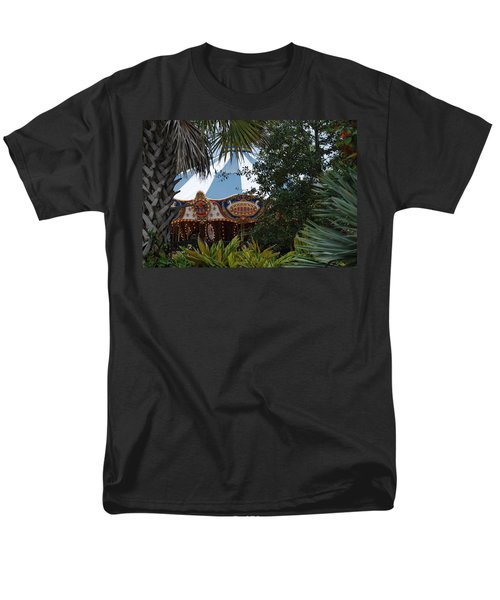 Men's T-Shirt  (Regular Fit) featuring the photograph Fun Thru The Trees by Rob Hans
